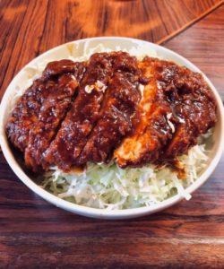 キッチンフライパンの会津ソースカツ丼①