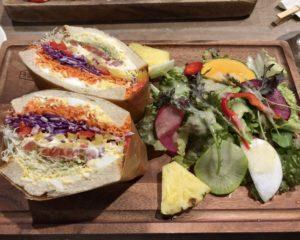 ノースショアのスプラウトエッグサンドイッチ②