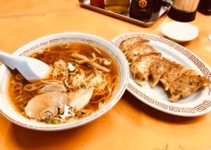 りんりんのラーメンと餃子