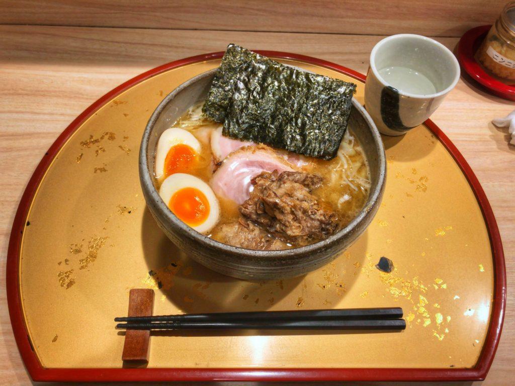 特製生姜濃厚鶏白湯②