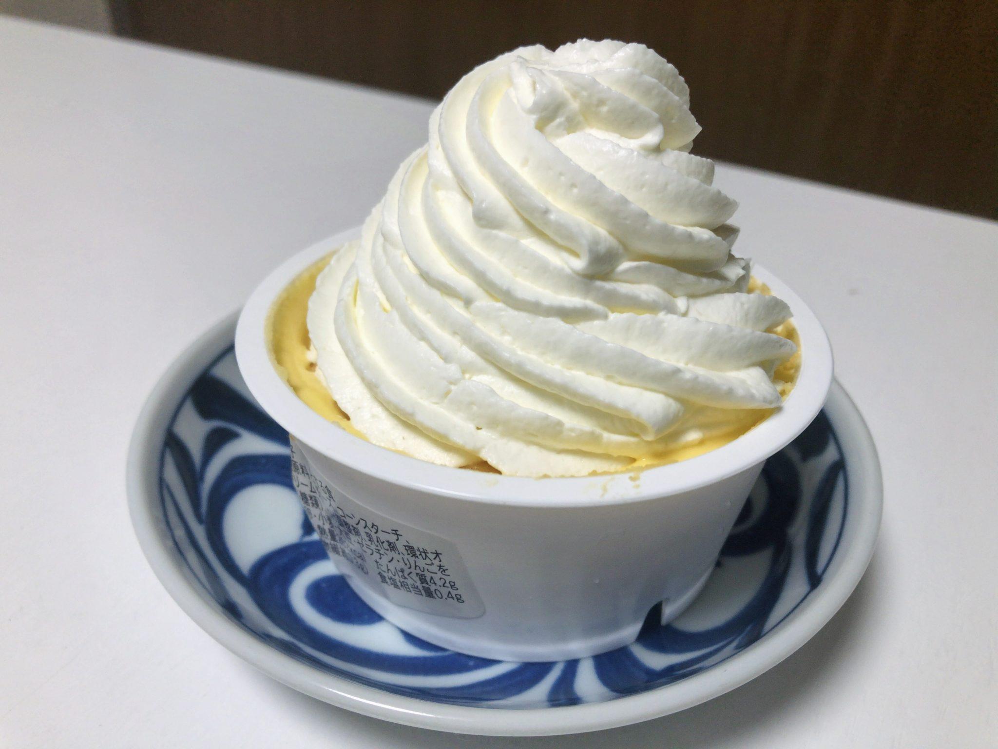 ファミリーマートのクリームほおばるチーズケーキ③