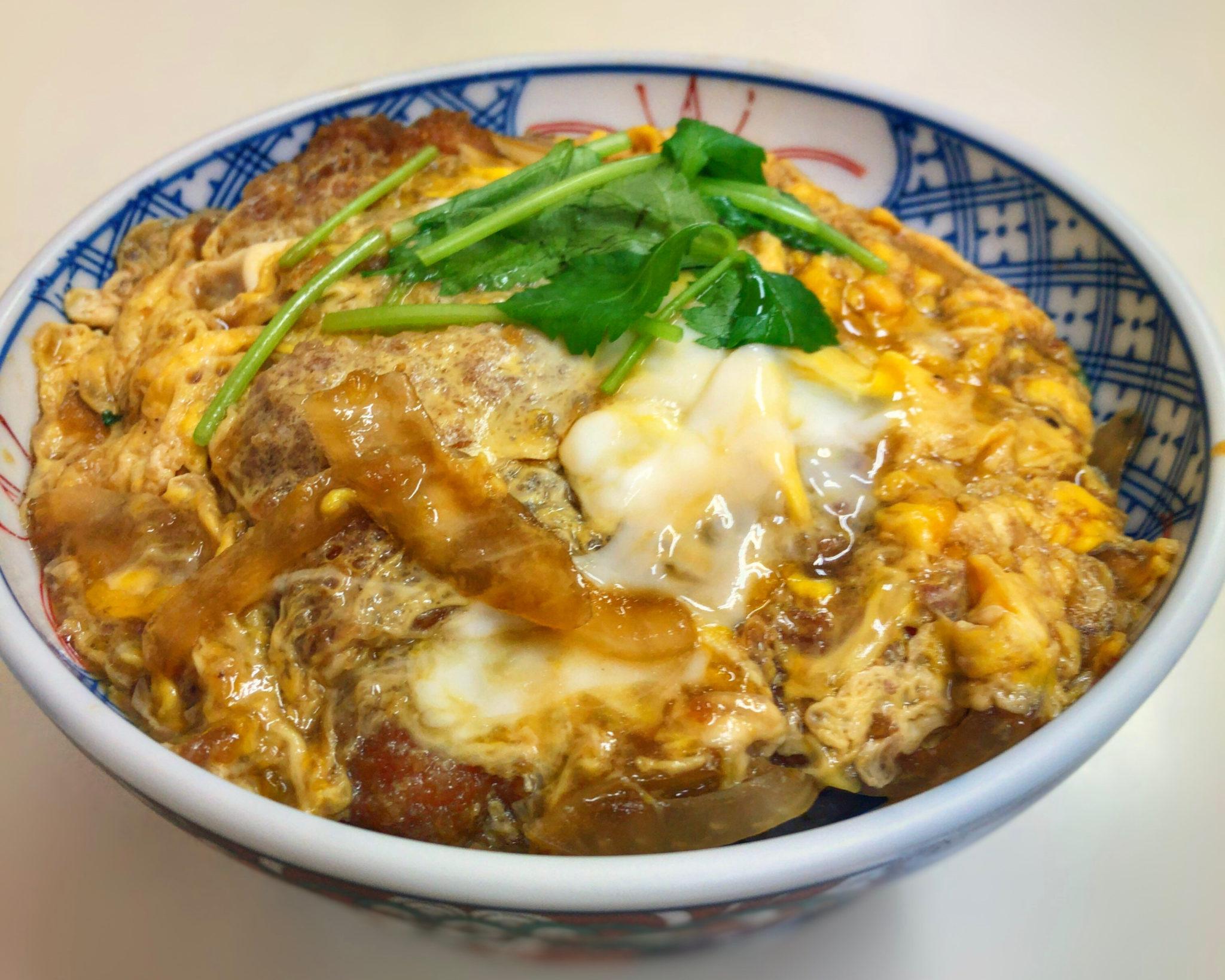 美富士のカツ丼②