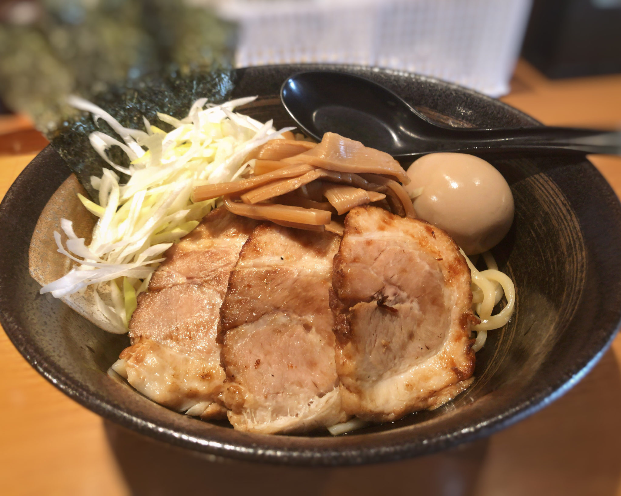 麺屋炙りの特製つけ麺⑨
