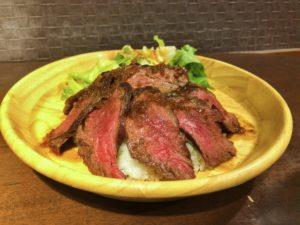 ビーワンのハラミステーキ丼①