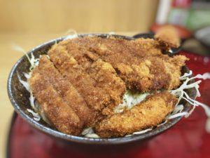 京都勝牛のソースカツ丼②