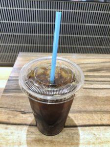 グラムズカフェのアイスコーヒー