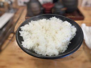 立ち喰い焼肉治郎丸のライス