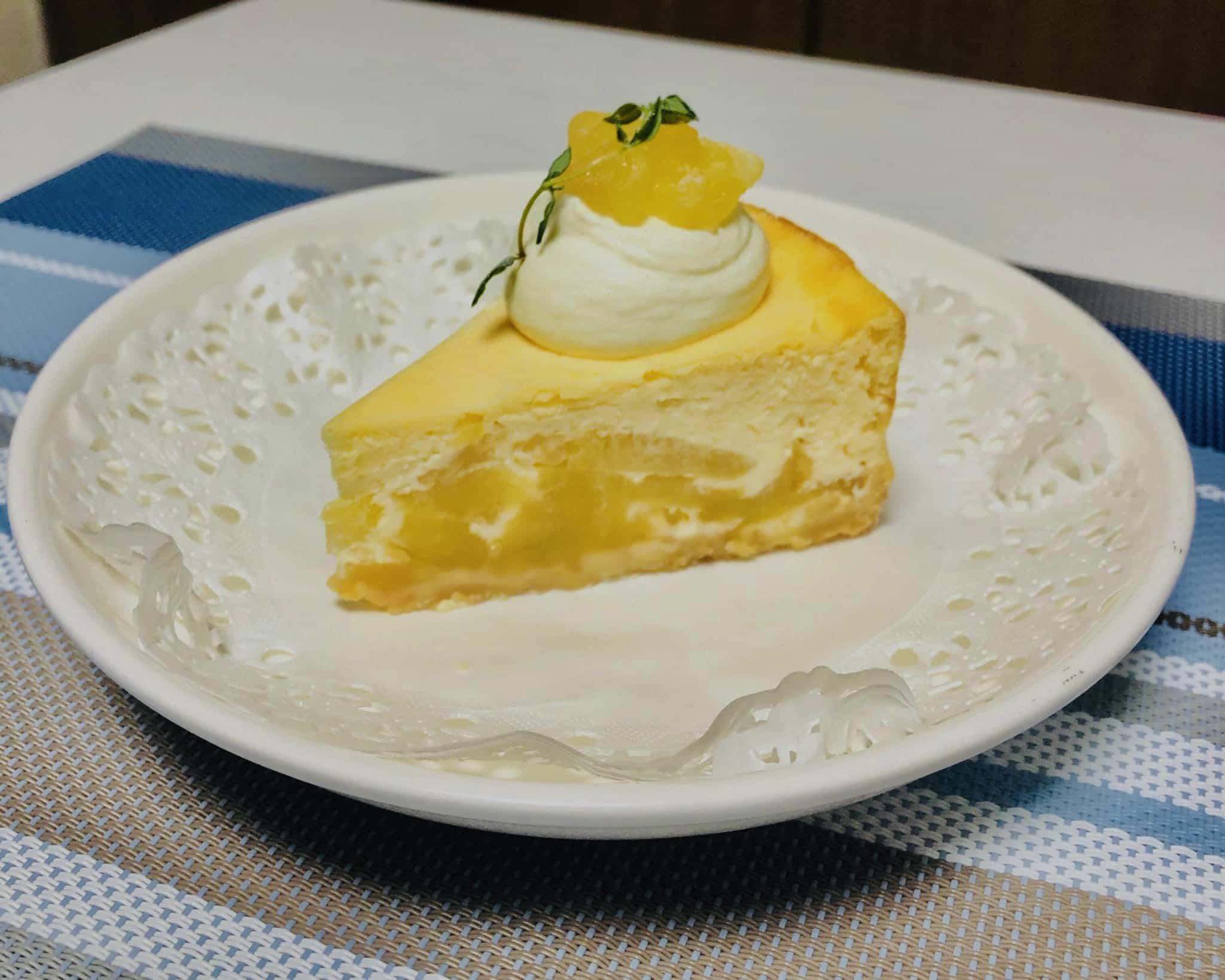 nomiyaのりんごのチーズケーキ①