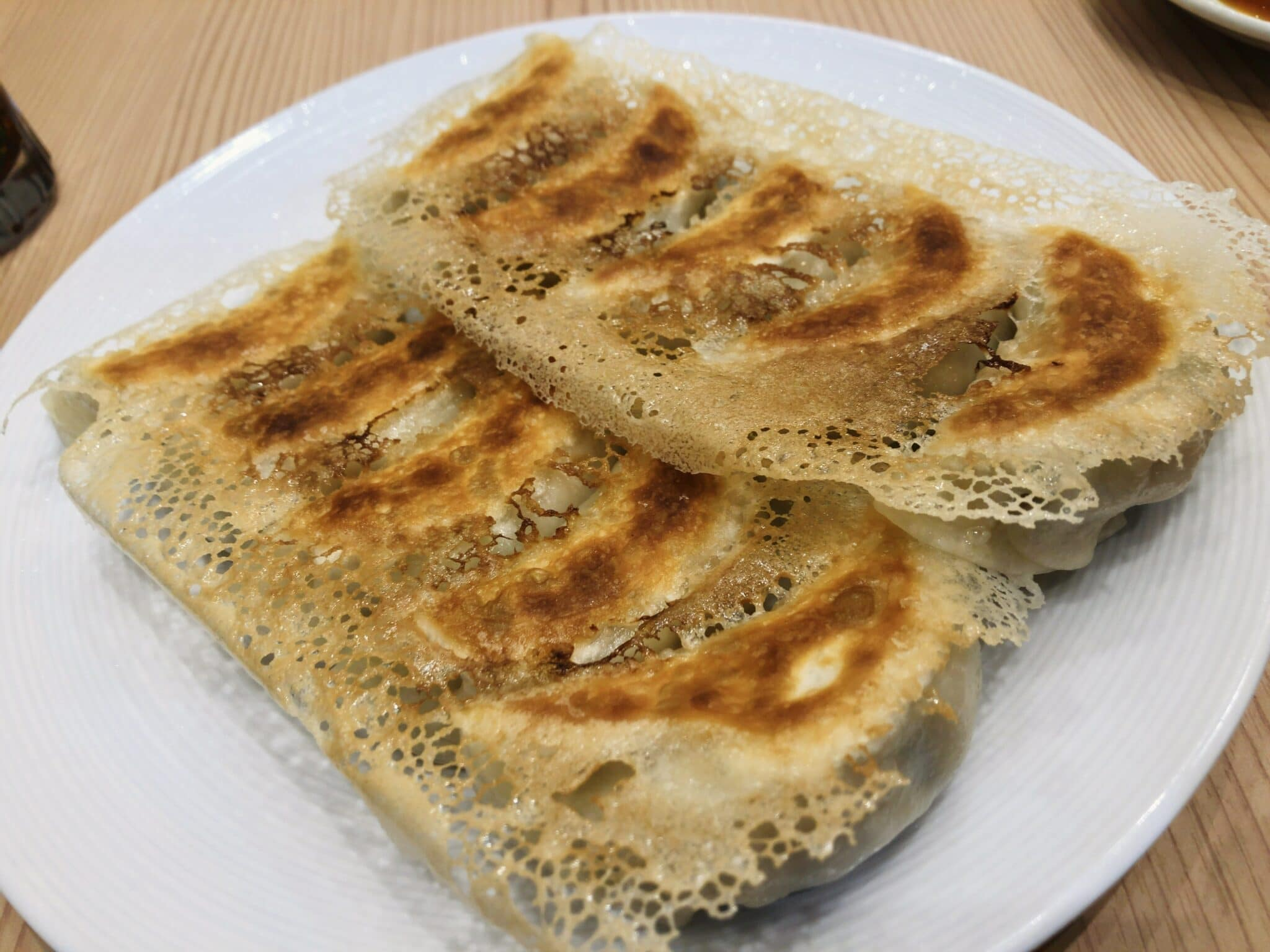 良記餃子軒の良記餃子定食②