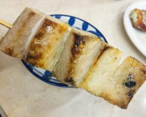 ごっつりの銀鯖の串焼き①