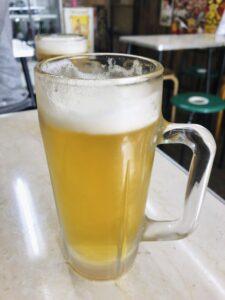 ごっつりの生ビール
