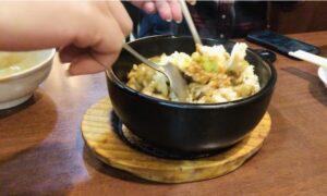 状元郷のクリスピー炒飯②