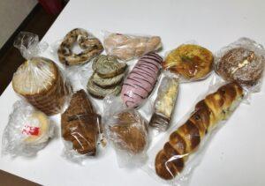 ブーランジェベーグのパン①