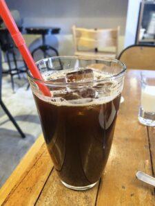 レガーロのアイスコーヒー